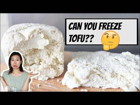 CAN YOU FREEZE TOFU?? | FIRM AND SILKEN TOFU