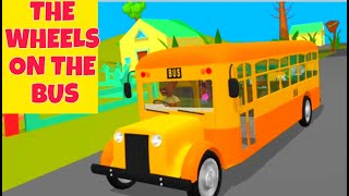 The Wheels on the Bus nursery rhyme for kids