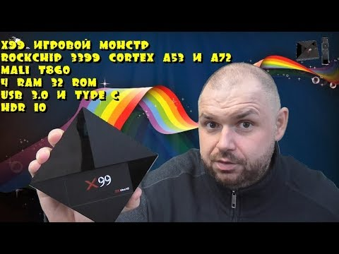 X99 ИГРОВОЙ МОНСТР среди Смарт ТВ Боксов HDR10, 4/32, USB 3, 5ГГц. Обзор и тест игровых возможностей