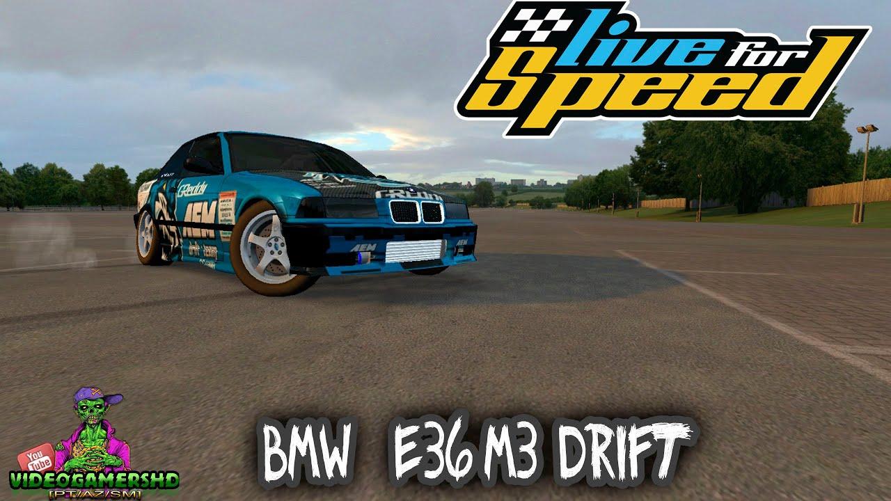 LFS - BMW E36 M3 Drift [MOD]