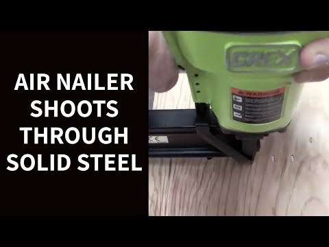 COOL TOOL: Watch Air Nailer Shoot Through Solid Steel