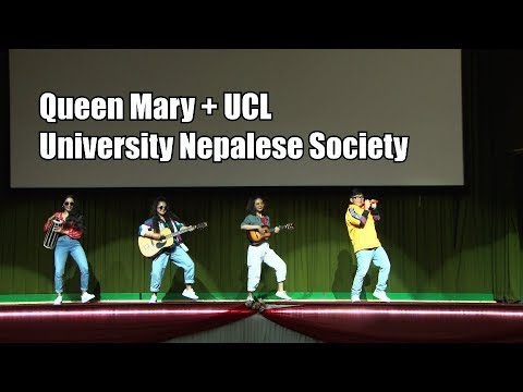 Queen Mary & UCL (6th Inter-Uni Nepalese Dance Competition, UK 2018)