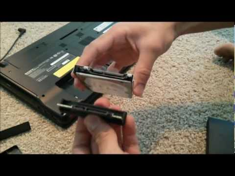 How to remove files from a broken laptop