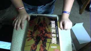 Zone of the Enders HD Collection Limited Edition Unboxing