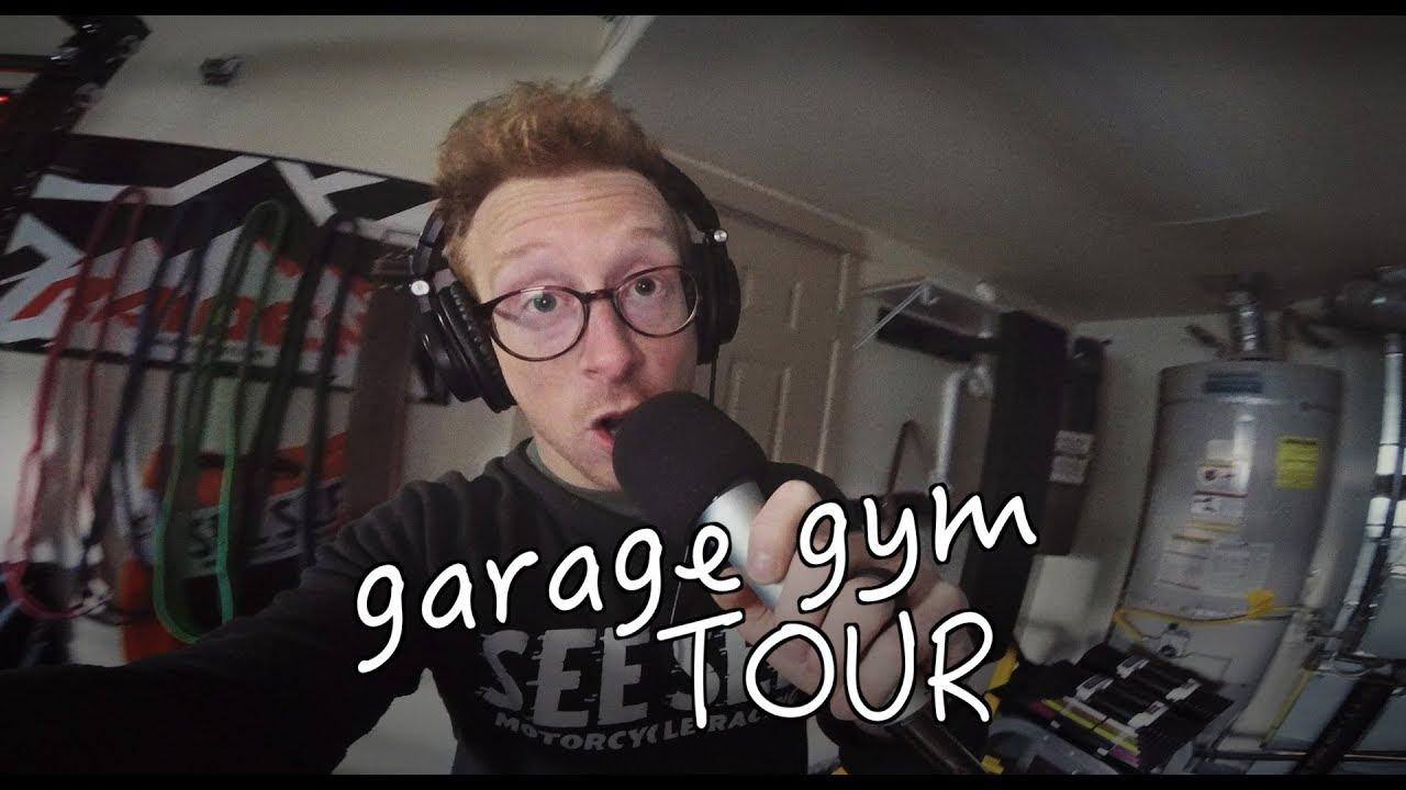 Garage gym tour chris hunt youtube