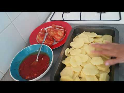 poulet-pomme-de-terre-au-four-rapide
