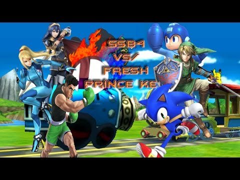 Super Smash Bros For 3DS: Online Matches 1- Vs. K_Dizzle 12-0!!!!