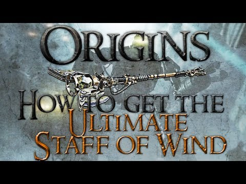 Black Ops 2: Zombies Origins - How To Get The Ultimate Staff Of Wind | Boreas' Fury