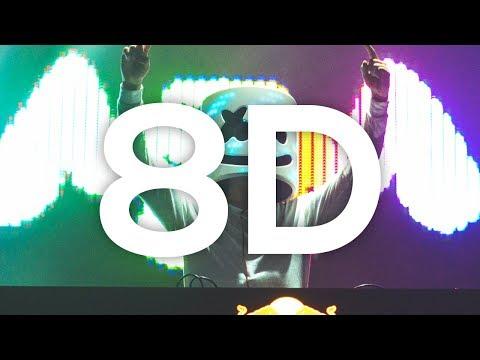 Marshmello ft. Bastille - Happier 🎧 (8D AUDIO)