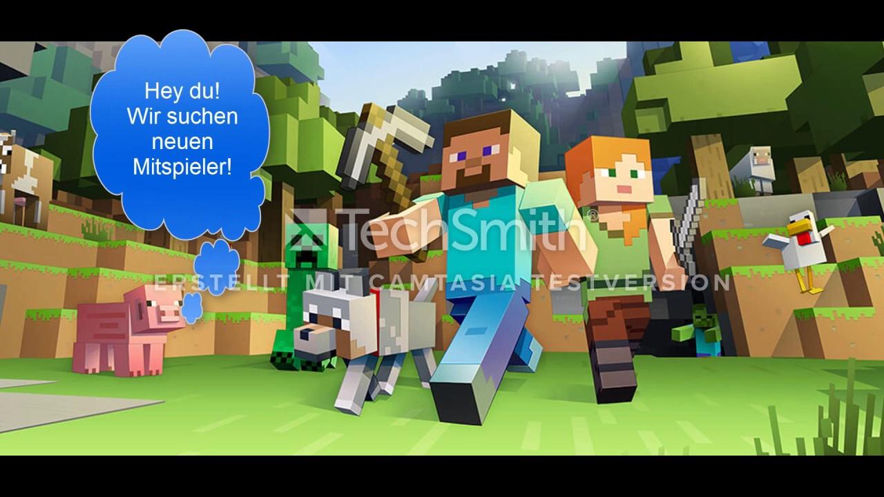 Wir Suchen Neue Spieler Minecraft Attackt Of The BTeam - Minecraft spieler suchen