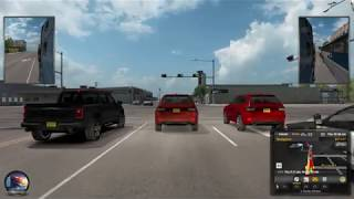 American Truck Simulator Gameplay #6   Ogden (UT) - Artesia (NM)   Part 3