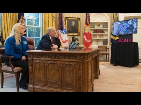 Thumbnail: Trump to astronaut: Better you than me