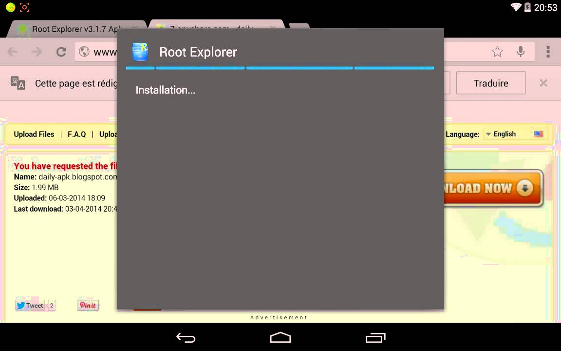 Root explorer(android's