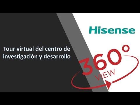 Centro de investigación y desarrollo de Hisense Video 360 4K / VR