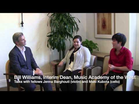 2014 Fellows Jenna Barghouti and Maki Kubota talk classical music