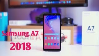 Samsung Galaxy A7 2018 || Reviews Mobile Phone