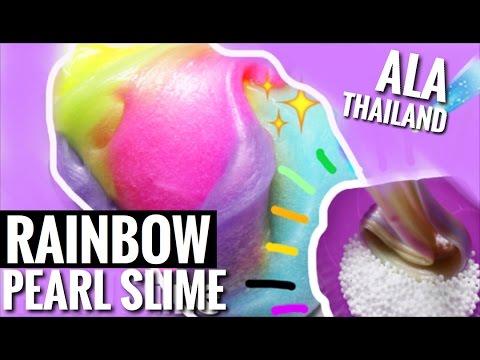 how to make rainbow slime youtube