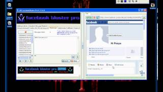 Cracked 2013 FaceBook Blaster Pro v11 0