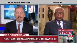 Majority Whip Clyburn Interview on MTP Daily (1.15.19)