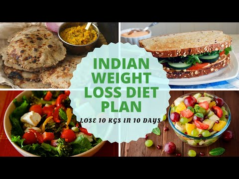How To Lose Weight Fast 10Kg in 10 Days | Full Day Indian Diet/Meal Plan For Weight Loss
