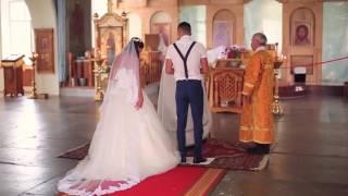 Полное видео Таинство венчания Давыдовых Дмитрия и Наталии 24.07.2016!!!