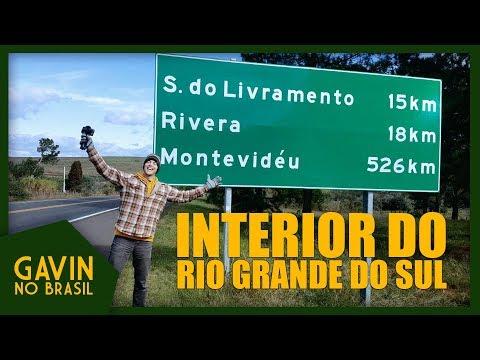 O INTERIOR DO RIO GRANDE DO SUL | OLHAR GRINGO