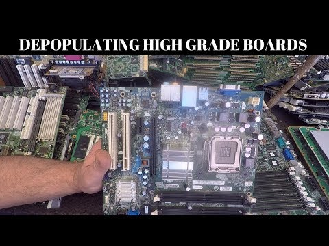 Depopulating Boards - High Grade Boards Part 1