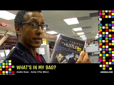 Andre Royo  What's In My Bag?