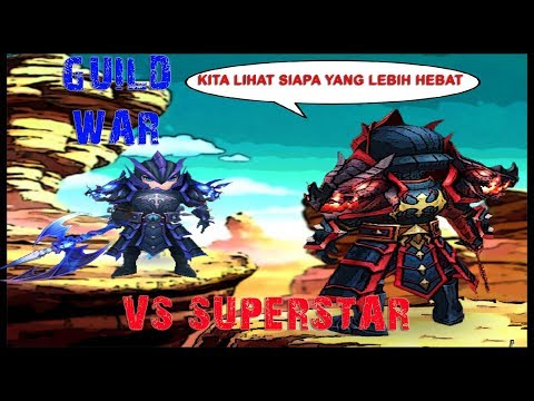 Summoners War Guild War VS SuperStar