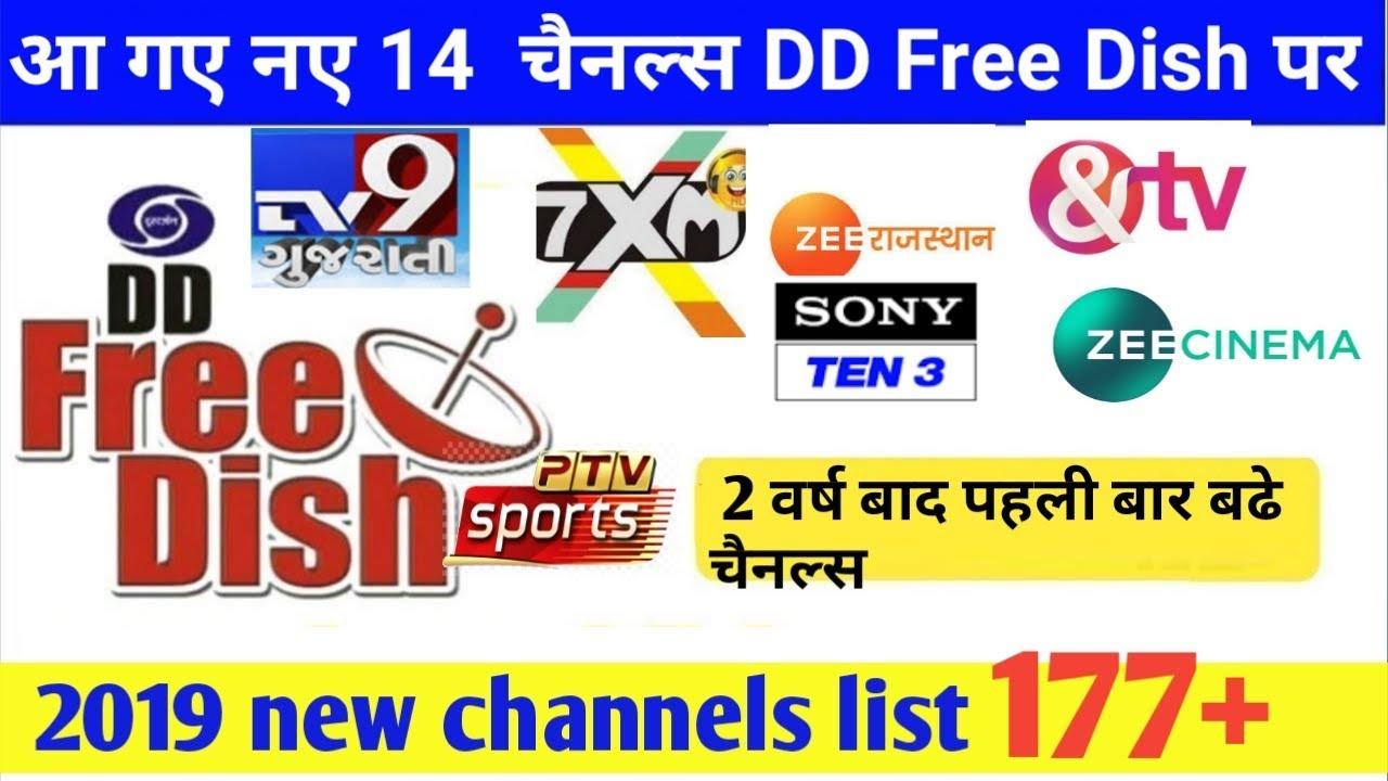 Dish tv free channels list 2019
