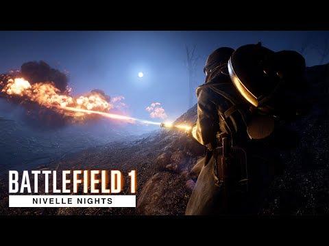 Battlefield 1 - The Beauty of Nivelle Nights - 4K Ultra Slow Motion