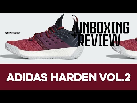 UNBOXING+REVIEW - adidas Harden Vol.2