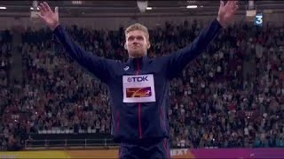 Mondiaux d'athlétisme : Une Marseillaise en l'honneur de Kevin Mayer et l'émotion qui va avec !