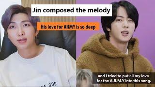 """Baixar The story behind making BTS Jin song """"Moon"""""""