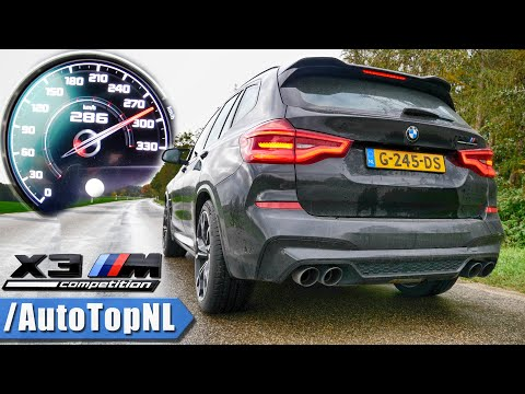 BMW X3M COMPETITION | 0-286km/h ACCELERATION TOP SPEED & DRAGY GPS By AutoTopNL