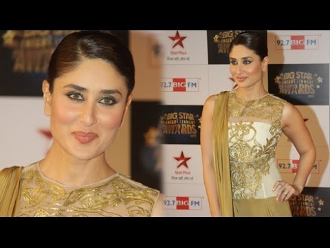 Kareena Kapoor @ Big Star Entertainment Awards 2013 !