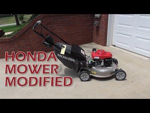 Honda Self Propelled Lawn Mower HHR2169VLA Modified