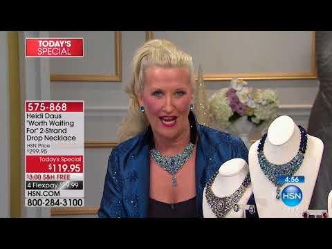HSN   Heidi Daus Fashion Jewelry 11.15.2017 - 04 PM