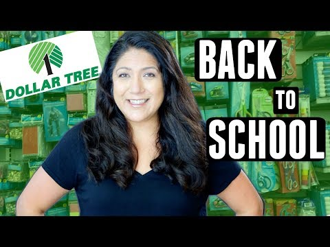 NEW Dollar Tree BACK TO SCHOOL | Shop With Me