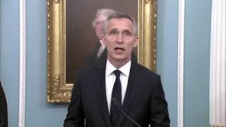 Генеральный секретарь Столтенберг приветствует Черногорию в Альянсе НАТО, 05/06/2017