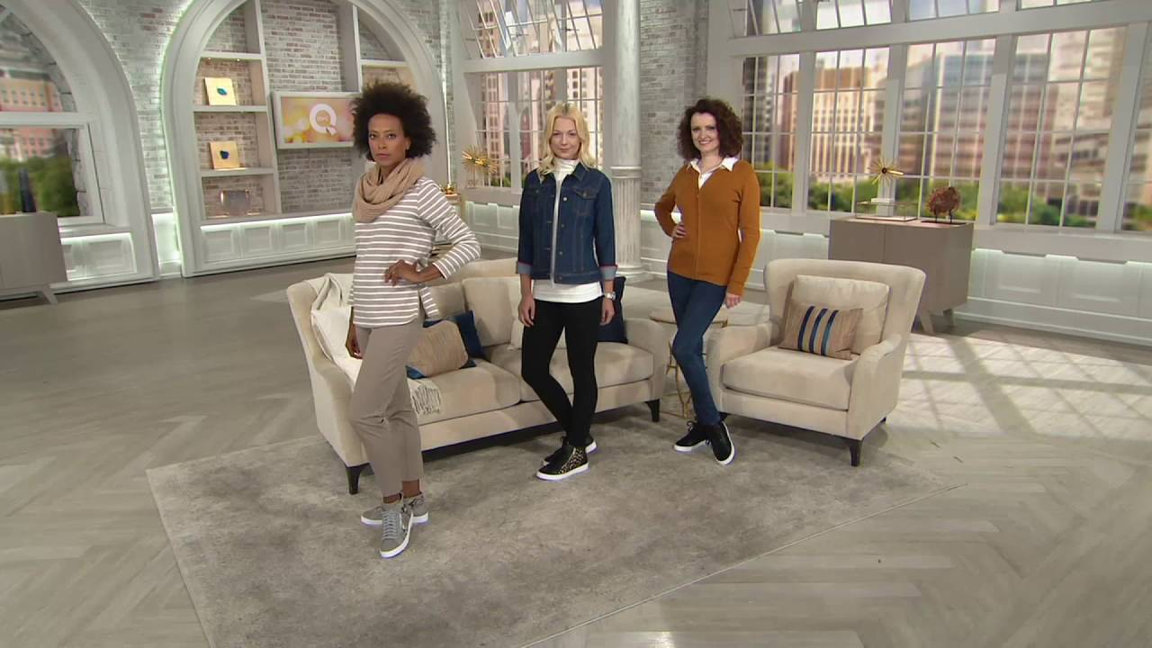 d36b252dcb2be Vionic Orthotic Lace- Up High-Top Sneakers - Torri on QVC
