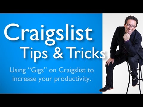 Navigate Craigslist Gigs & Finding Gigs to Find Workers on Craigslist │ Craigslist Listing Tips