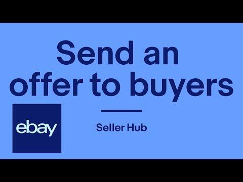 Send an offer to buyers on eBay | Seller Hub | eBay for Business UK thumbnail