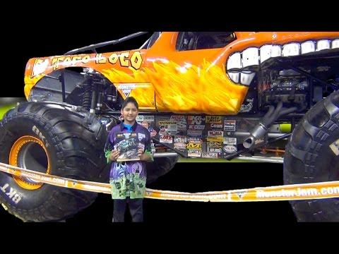 Monster Jam El Toro Loco - Chuck Werner - Pit Party - Indianapolis 2017