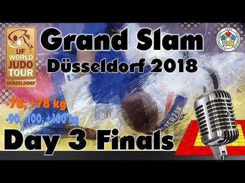 Judo Grand-Slam Düsseldorf 2018: Day 3 - Final Block