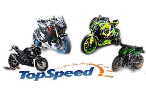 top speed ตระกูลZ ยักษ์เขียว Kawasaki  Z250 Z300 Z800 Z1000 ดูเป็นแนวทางก่อนออกรถกัน