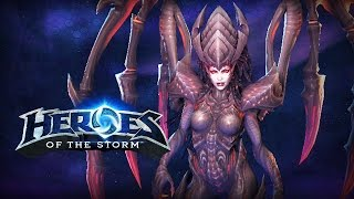 ♥ Heroes of the Storm (Gameplay) - Kerrigan, Return of the Queen (HoTs Quick Match)