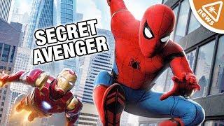 How Spider-Man Homecoming Could Be Hiding a Secret Avenger! (Nerdist News w/ Jessica Chobot)
