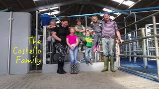 New 50 unit rotary milking parlour changed life on Costello Dairy Farm!