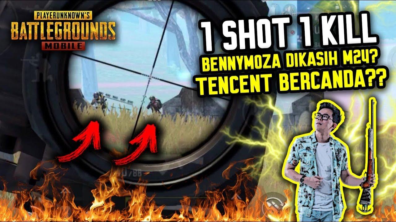 BENNYMOZA DIKASIH M24 ?! TENCENT BECANDA ??? - PUBG MOBILE INDONESIA